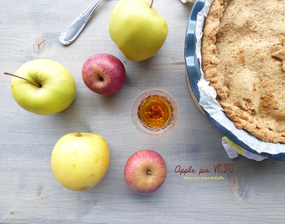torta di mele americana vegana