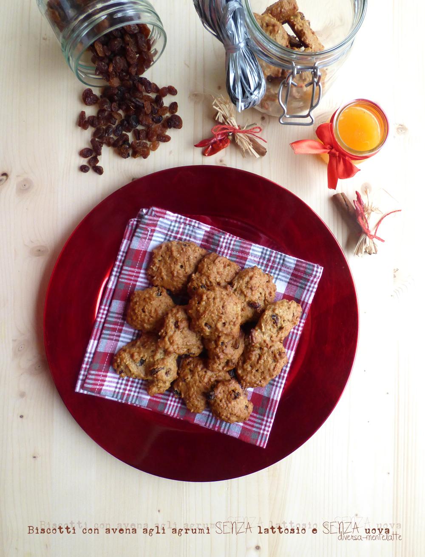 biscotti con avena agli agrumi