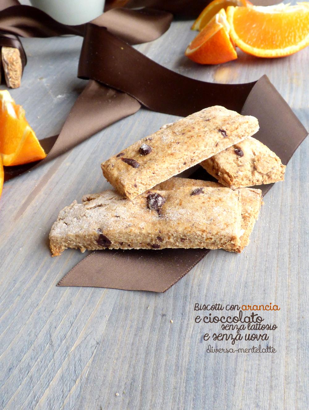 Biscotti con arancia dairy free
