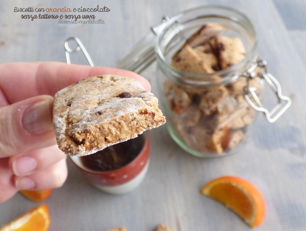 Biscotti con arancia e cioccolato