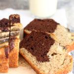 diversamentelatte_banana bread bicolore