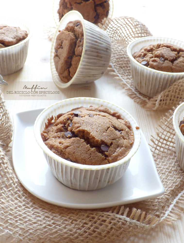 muffin con speculoos
