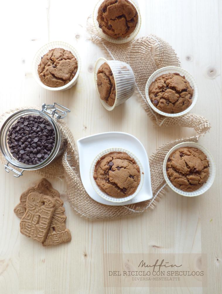 muffin del riciclo con speculoos