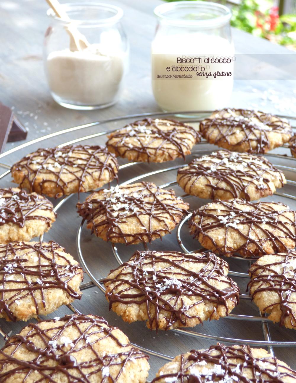 biscotti cocco cioccolato
