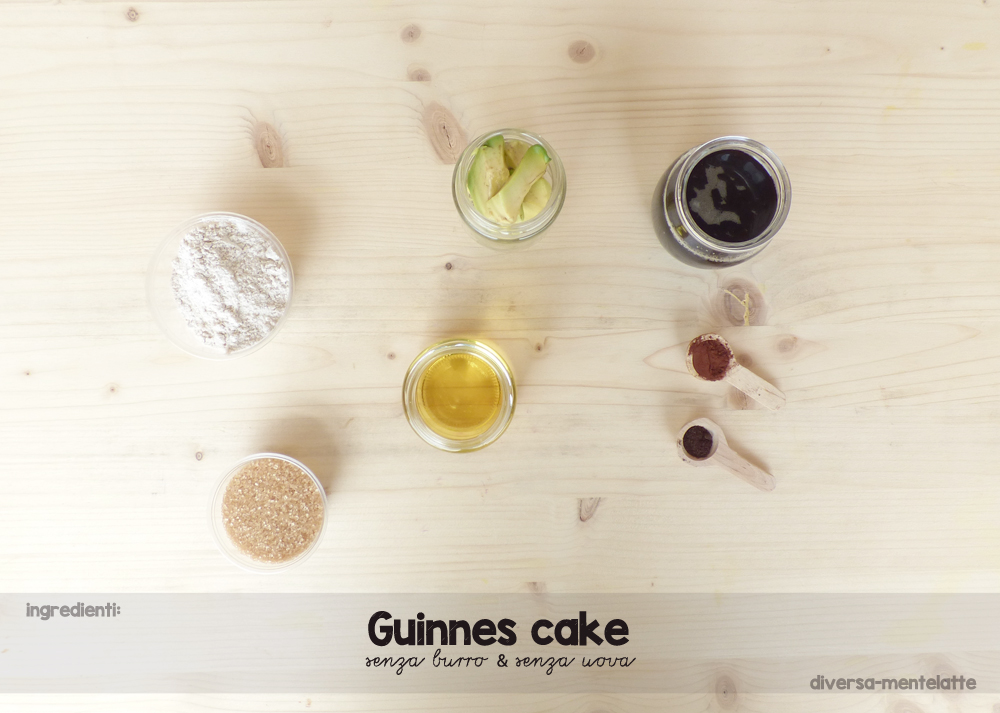 ingredienti guinnes cake