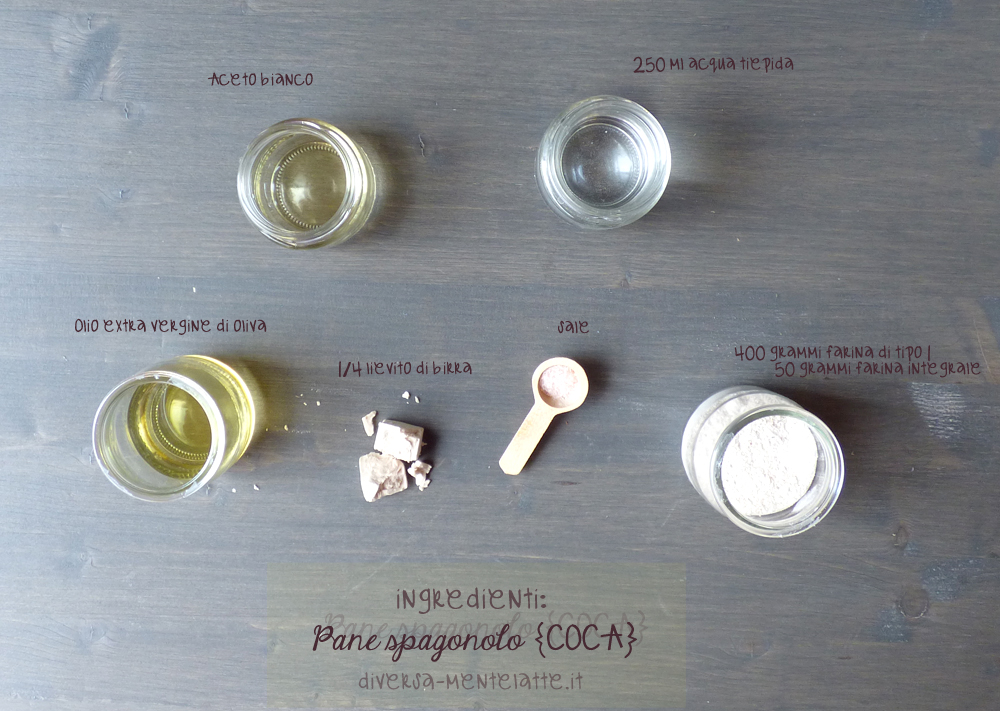 ingredienti pane spagnolo coca