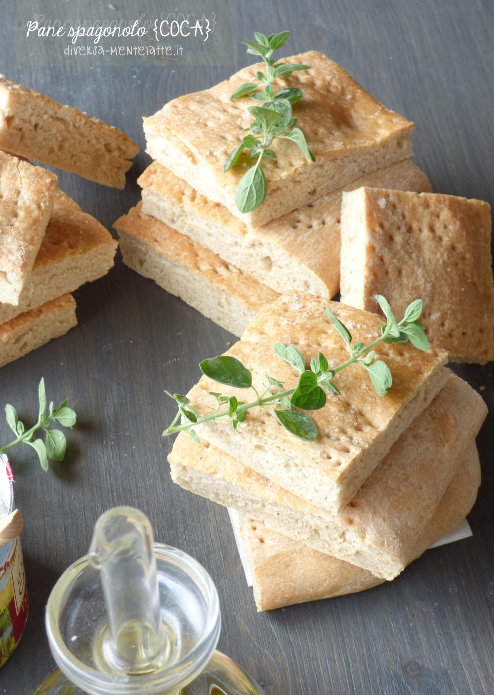 pane spagnolo senza lattosio