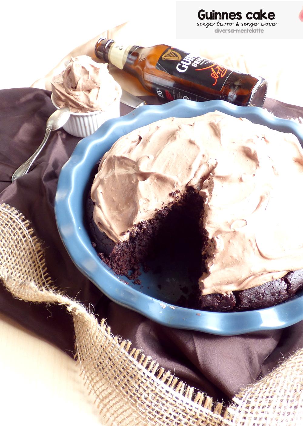 vegan guinnes cake