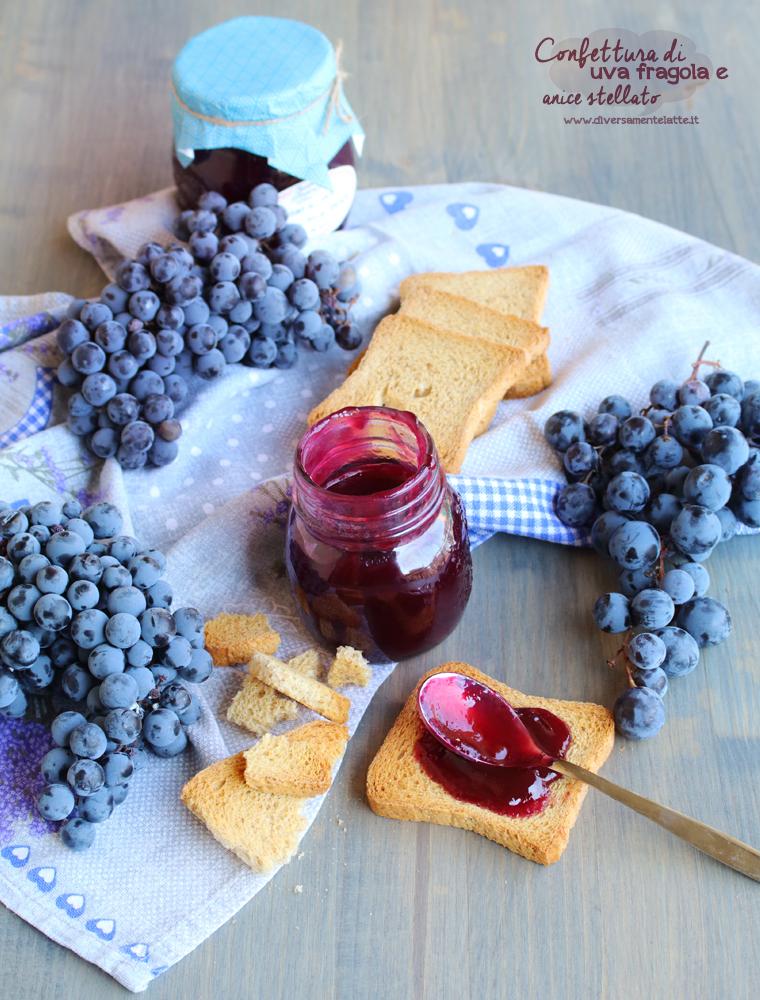confettura di uva