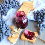 diversamentelatte confettura di uva fragola e anice stellato