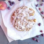diversamentelatte torta integrale con frutta estiva
