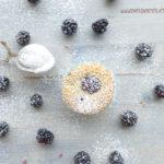 diversamentelatte muffin vegani con farina di riso alle more