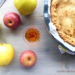 diversamentelatte apple pie vegana senza lattosio senza uova