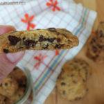 diversamentelatte biscotti rustici con gocce di cioccolato