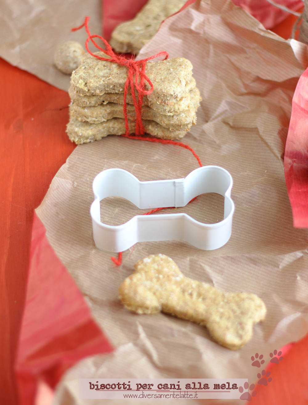 biscotti per cane homemade