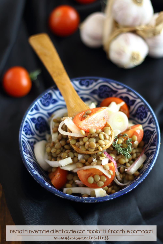 Insalata invernale di lenticchie senza glutine