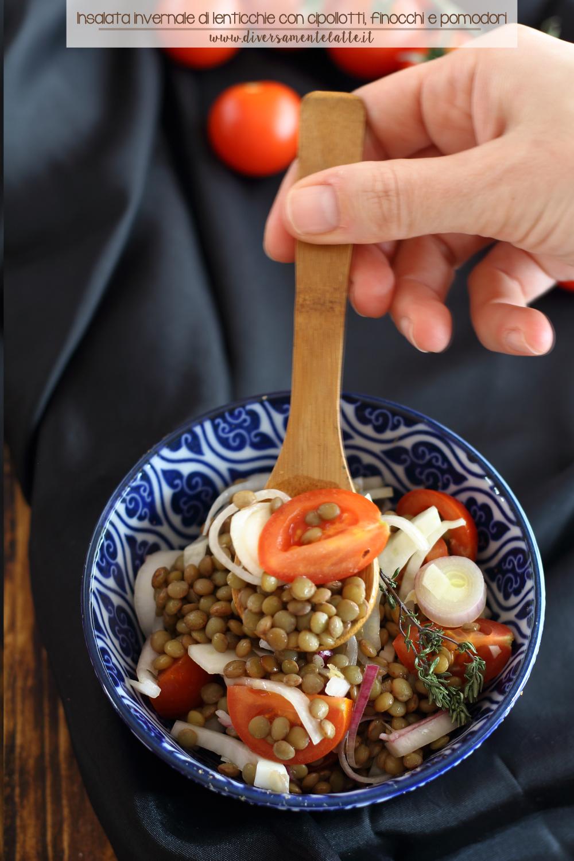 insalata invernale di legumi