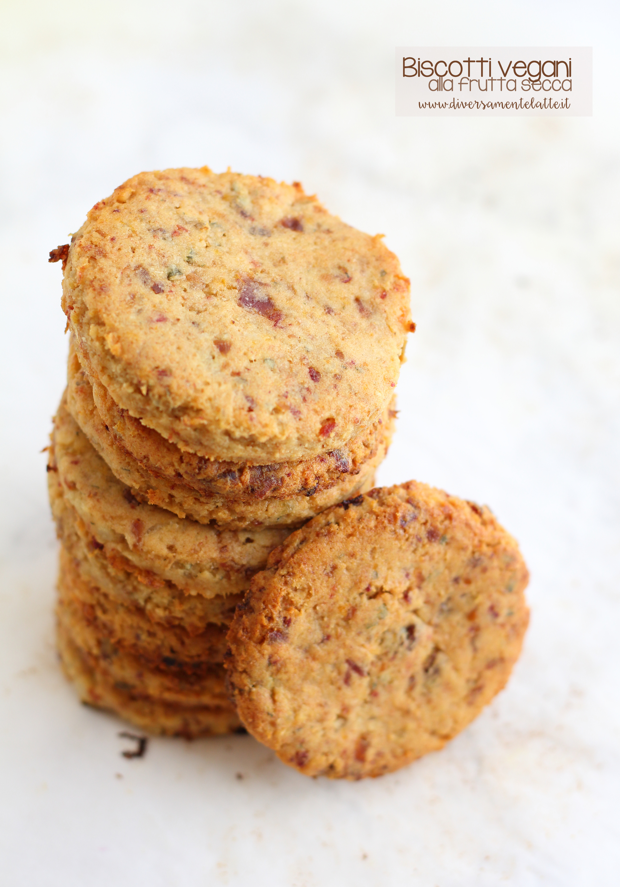 biscotti vegani senza glutine senza lattosio