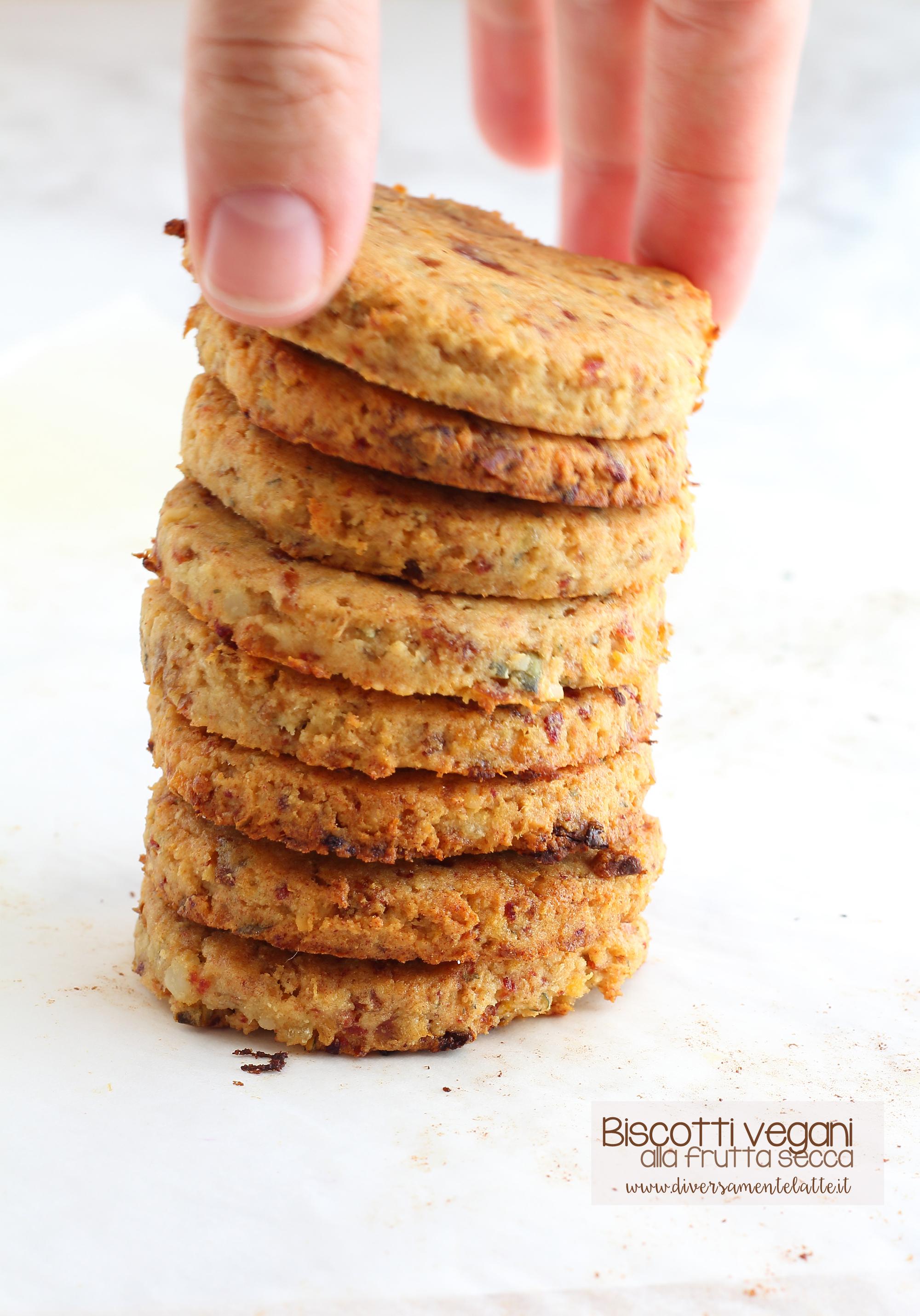 biscotti vegani senza glutine