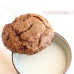 diversamentelatte_Biscotti al cacao e cioccolato senza lattosio e senza uova