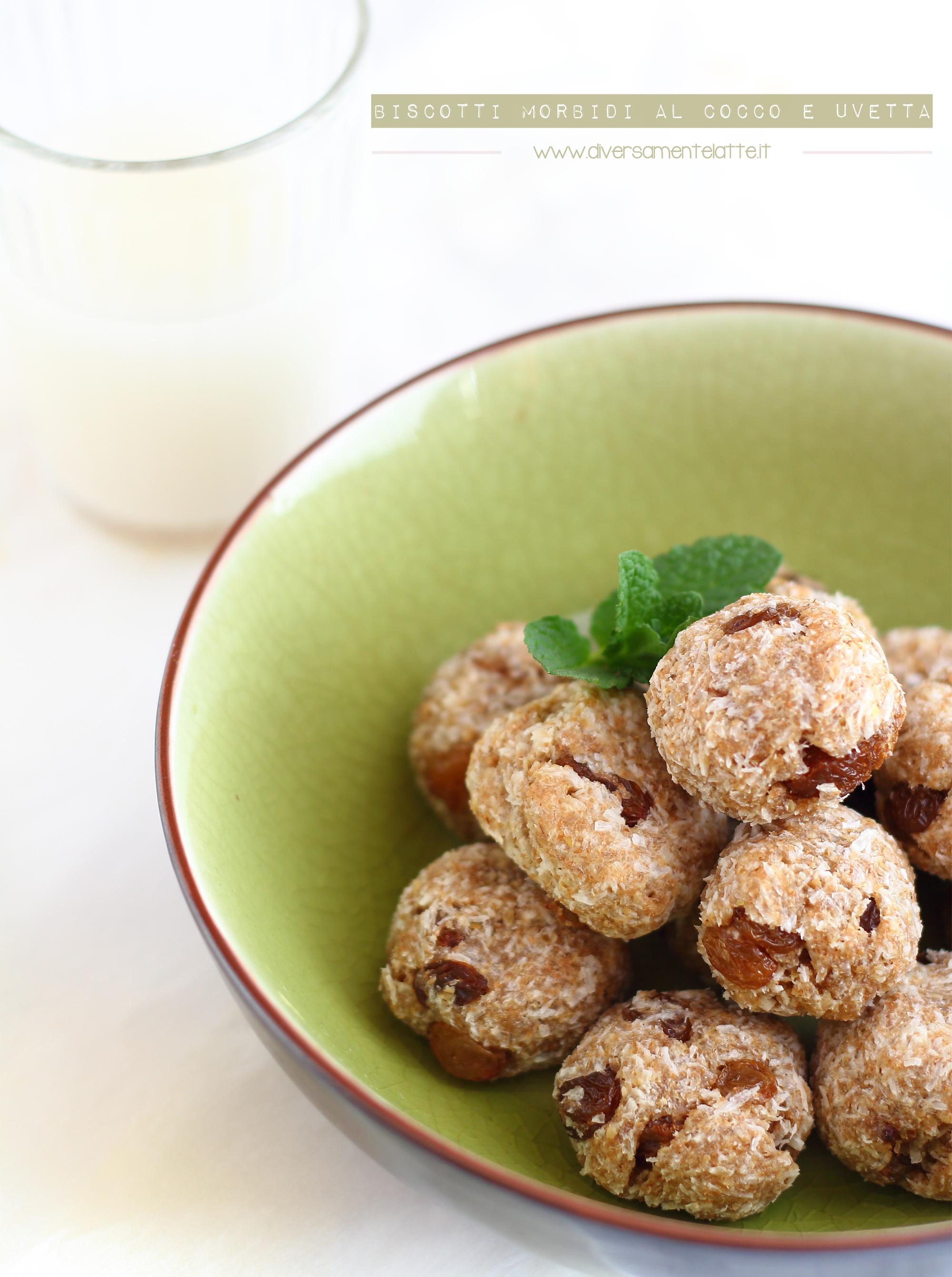 biscotti morbidi con okara