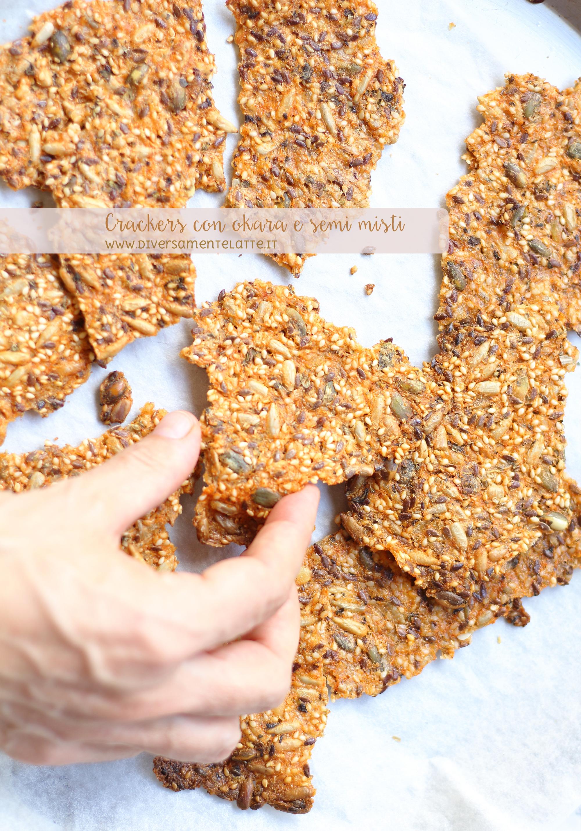 crackers senza glutine