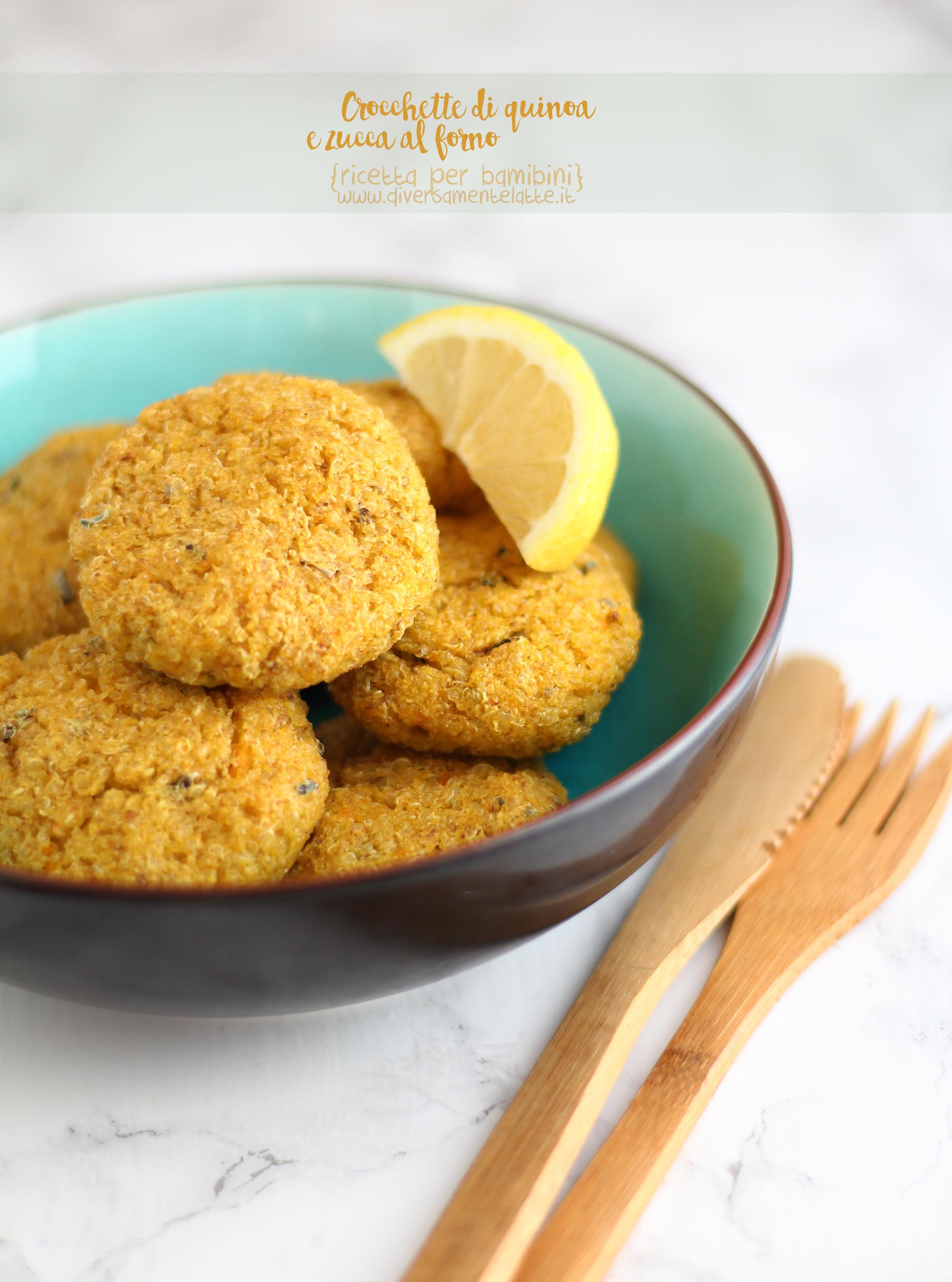 crocchette di quinoa e zucca
