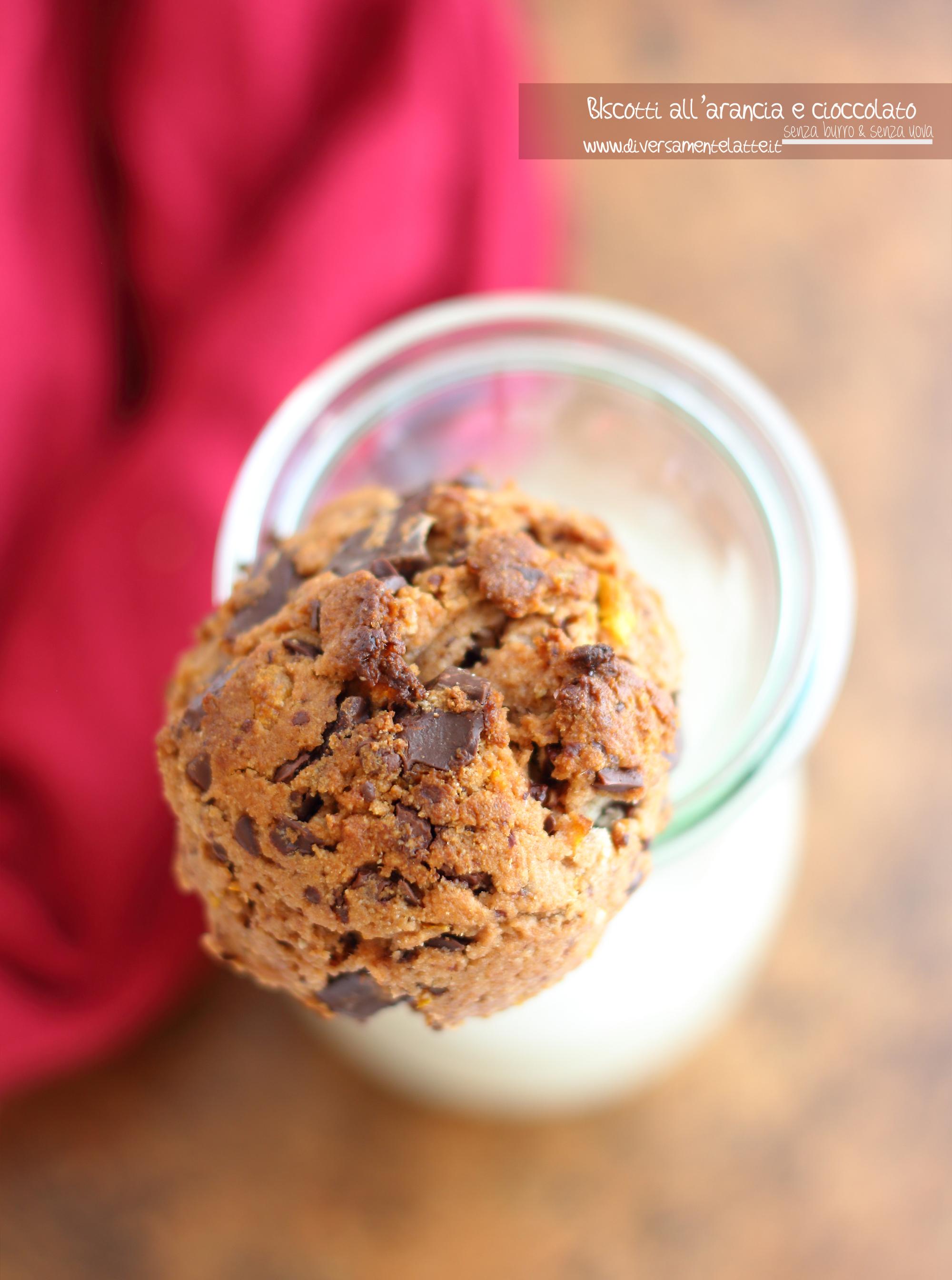 biscotti arancia e cioccolato dolci autunno