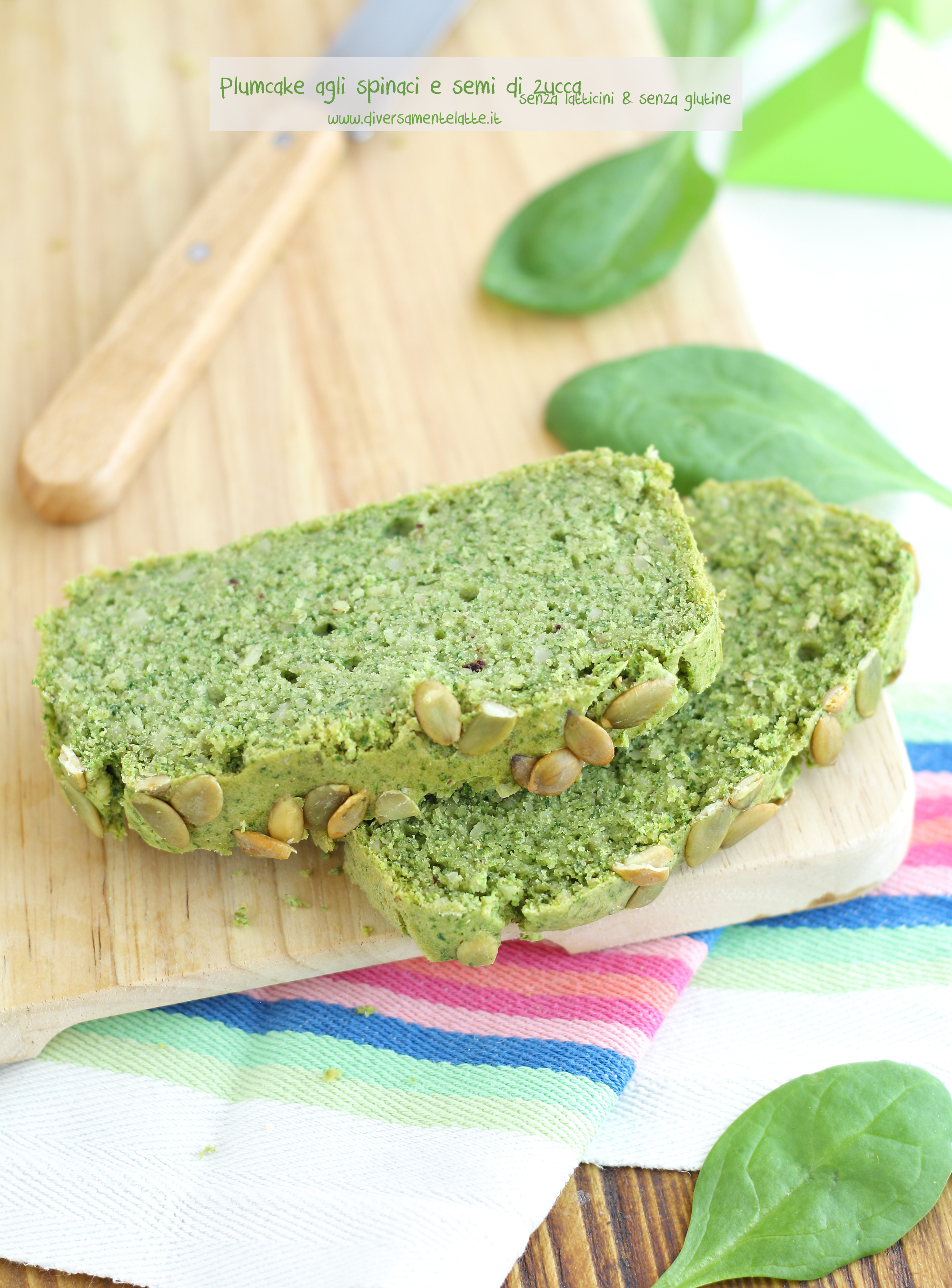 plumcake spinaci ricetta per bambini