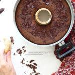 diversamentelatte_ciambella al cioccolato nella pentola fornetto