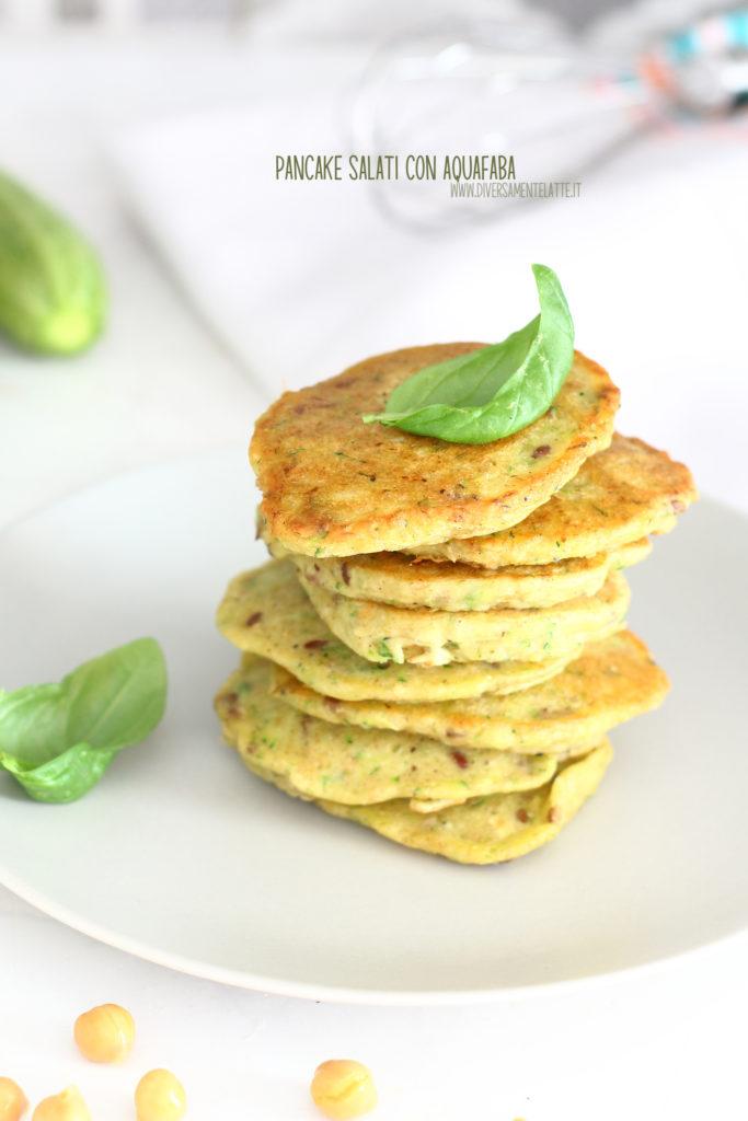 pancake con aquafaba