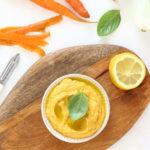 diversamentelatte_hummus di carote