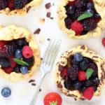diversamentelatte mini galette ai frutti di bosco