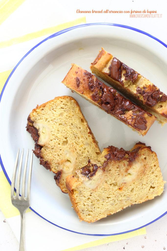 banana bread arancia vegan