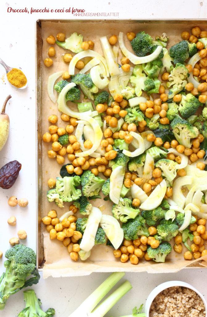 broccoli finocchi e ceci