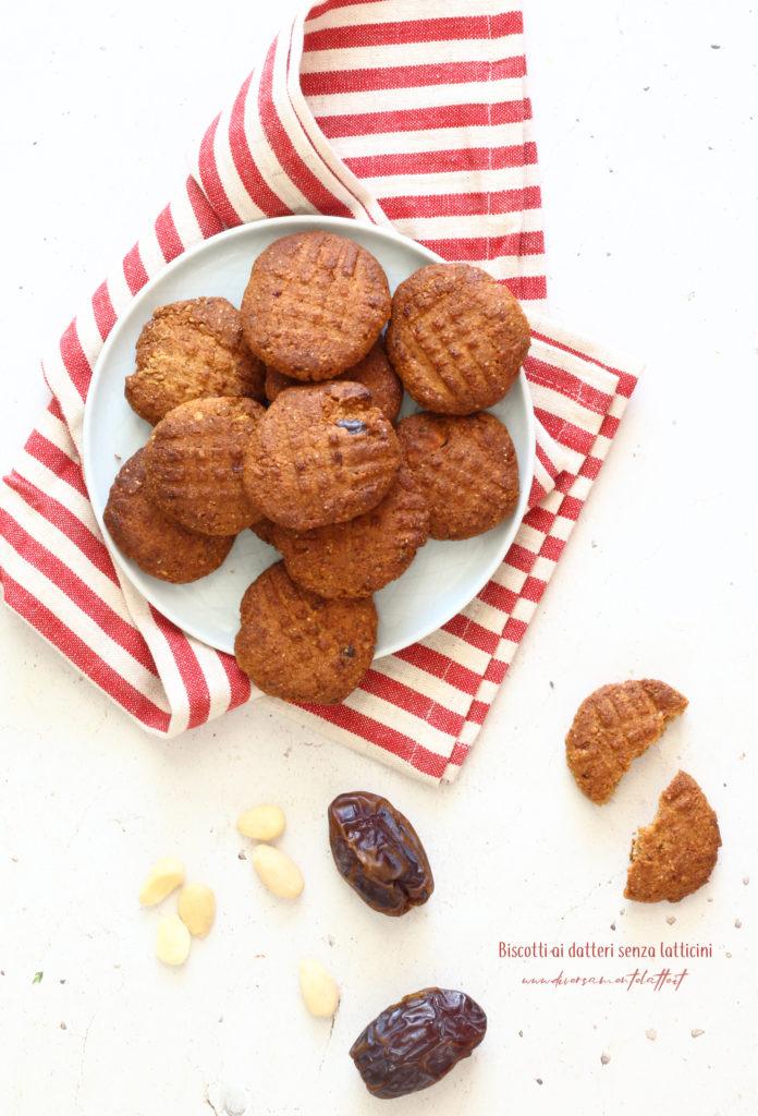 biscotti ai datteri senza burro