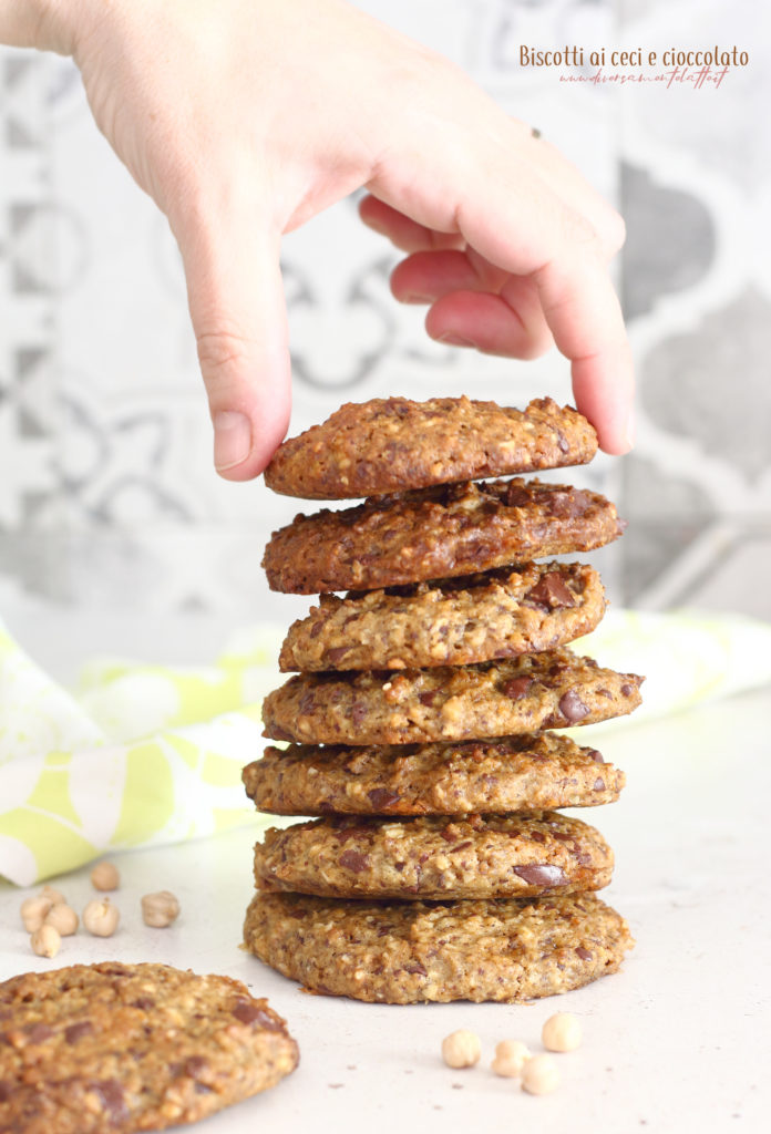 biscotti ceci e cioccolato