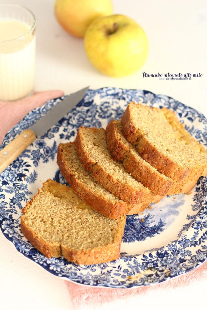 plumcake integrale senza burro