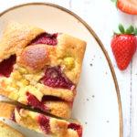 diversamentelatte_plumcake alle fragole e crema