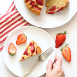 diversamentelatte_torta soffice alle fragole