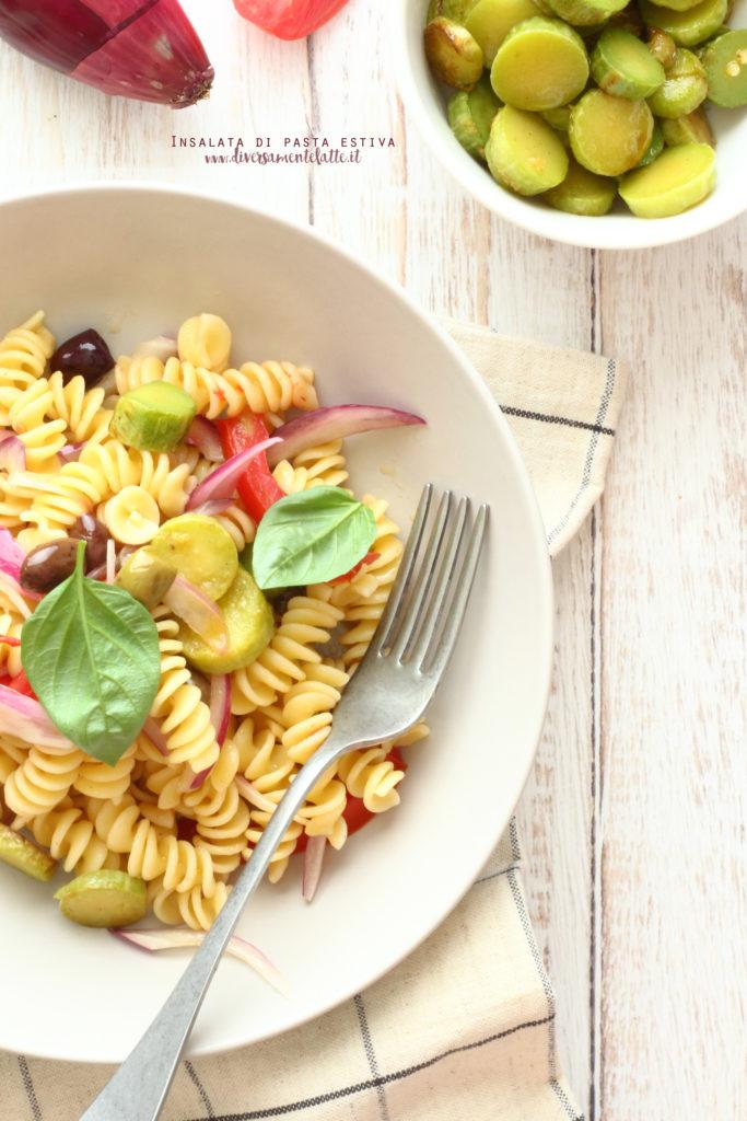 insalata di pasta fredda facile