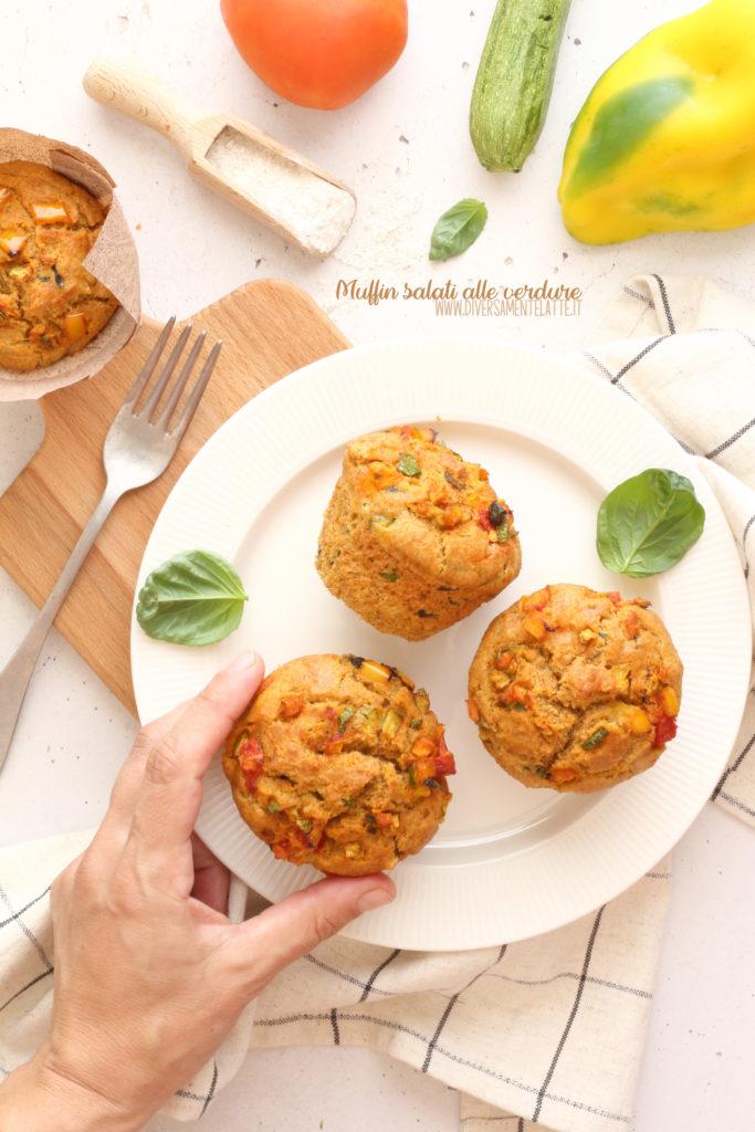 muffin salati senza lattosio
