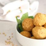 diversamentelatte polpette di grano saraceno e peperoni