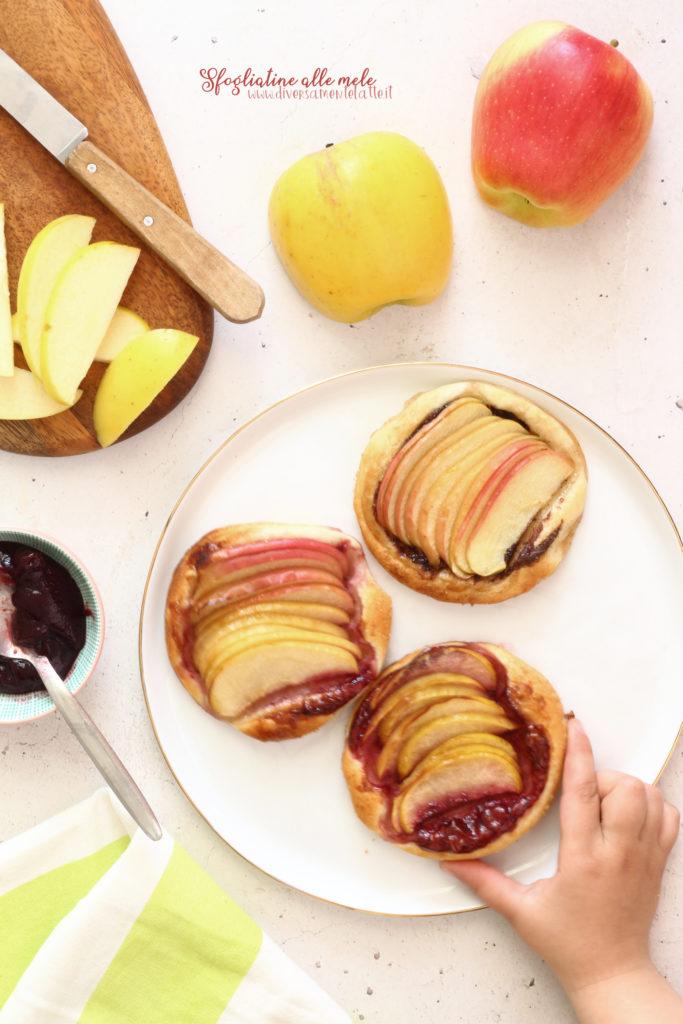 sfogliatine alle mele